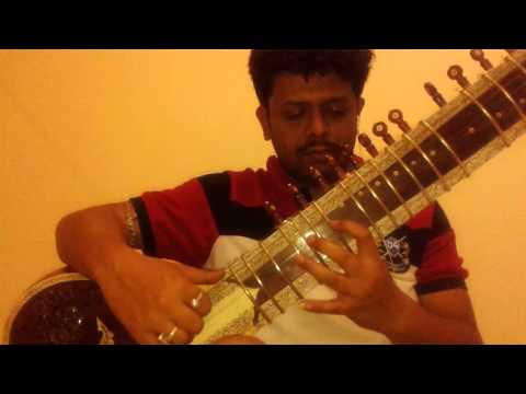 Bhenge Mor Ghorer Chabi : Played On Sitar