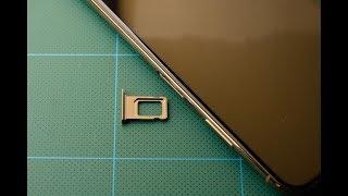 香港版 iPhone XS MAXの開封とDual SIM確認