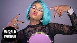 HOW TO MAKEUP: Chi Chi DeVayne's Red Lip