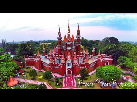 TAMAN MINI JAKARTA AERIAL WITH DJI PHANTOM INDONESIA & GOPROID