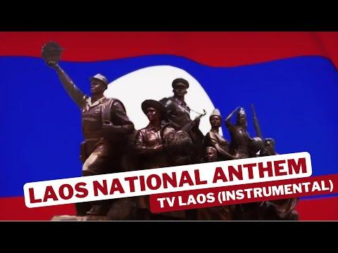Laos National Anthem TV LAOS (Instrumental)