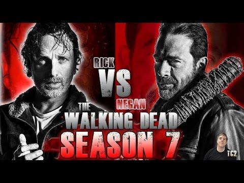The Walking Dead Season 7 - Rick vs Negan Death Battle - Who Would Really Win?