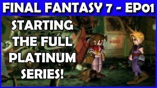 Let's Play Final Fantasy 7 PS4 Platinum Walkthrough - Bombing Mission & Trophy Prep - Part 1