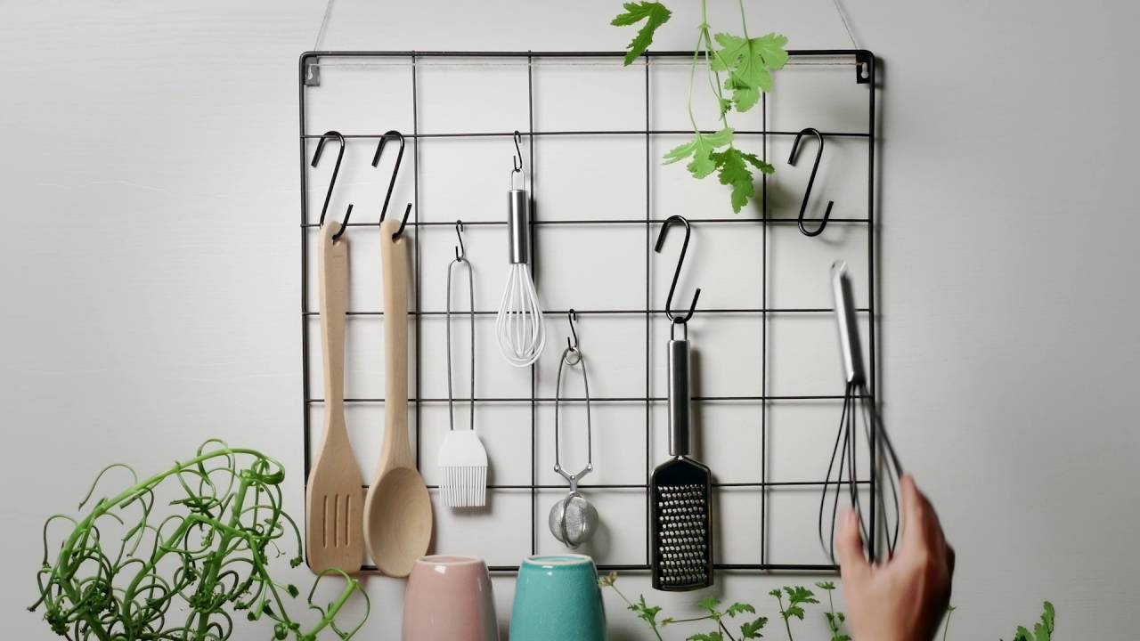 DIY - Two ways of organising your kitchen rack - YouTube