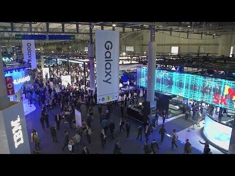 Teléfonos, robots y 5G en el Congreso Mundial de Móviles de Barcelona