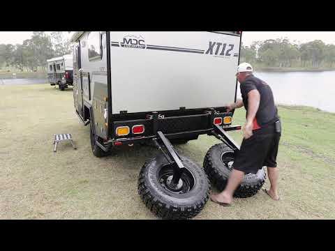 MDC XT12 & XT12DB CAMPER TRAILER SETUP INSTRUCTIONAL VIDEO