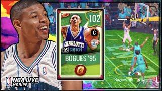 102 OVR GT Muggsy Bogues '95 C Gameplay! | NBA Live Mobile 102 OVR Golden Ticket