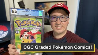 Pokémon, The Electric Tale of Pikachu Comic Books Graded by the Certified Grading Company (CGC)