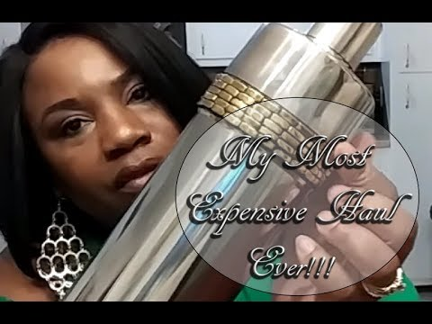 MY MOST EXPENSIVE HAUL FOR 2017     PLUS GIVEAWAY ANOUNCEMENT!