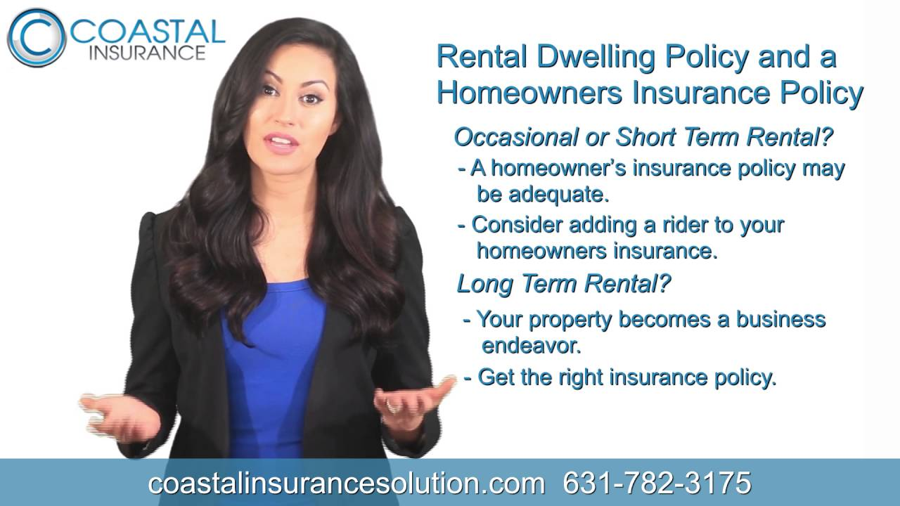 Learn what is the Difference between a Rental Dwelling Policy and Homeowners Insurance Policy