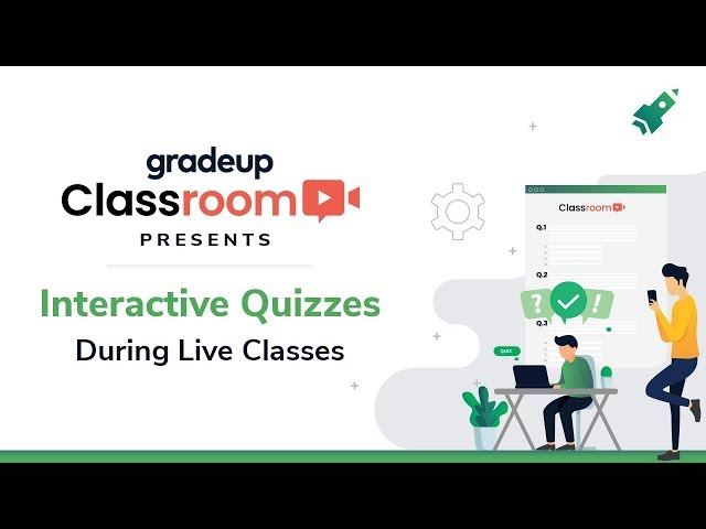 Interactive Quizzes by Gradeup Classroom