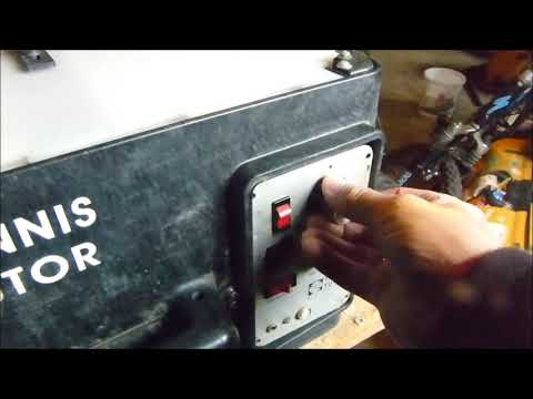 Tennis Tutor Battery Replacement