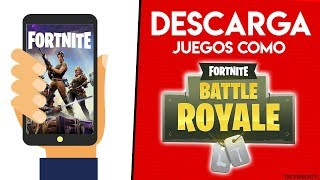 Download Games LIKE FORTNITE (Android & iOS) for FREE Fortnite's Best CLONES 2018