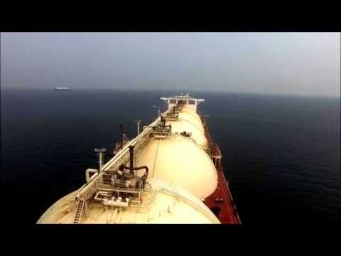 LNG vessel inspection