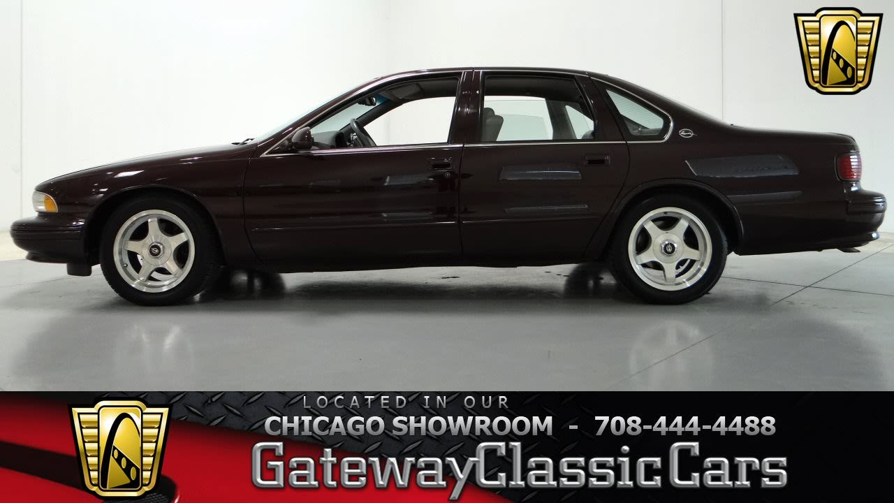1995 Chevrolet Impala SS Gateway Classic Cars Chicago #792 - YouTube