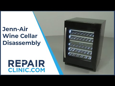 Jenn-Air Wine Cellar Disassembly JUW24FRECX00