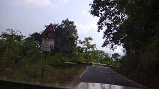 Travelling from Talacavery to Bhagamandala by JEEP