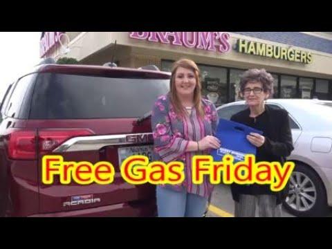Free Gas Friday Winner! Glenda!