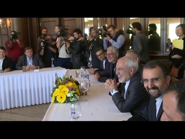 Завершение встречи мининдел России, Турции и Ирана