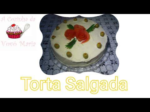 Torta Salgada - A Cozinha da Vovó Maria