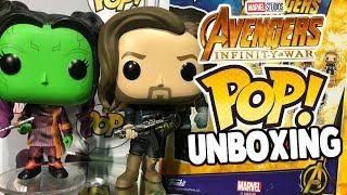 Abriendo Los 5 NUEVOS Funko POP de Avengers INFINITY WAR