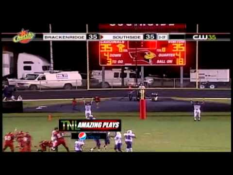 San Antonio KMYS - TNL Highschool Football Amazing Plays
