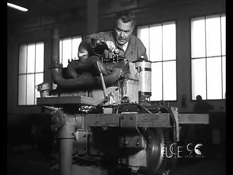 Ad Alessandria il nuovo centro Fiat per la meccanizzazione agricola (1956)
