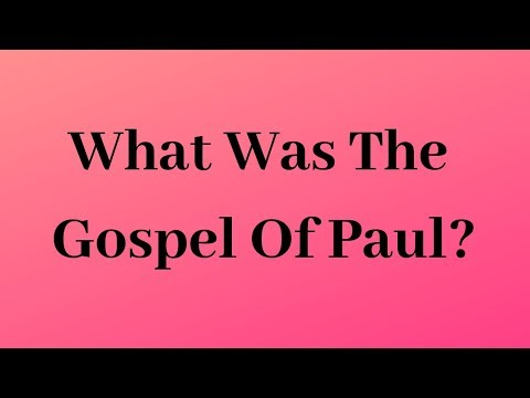 What Was The Gospel Of Paul? | Dr. Ralph Yankee Arnold | BBN
