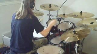 Finntroll - Solsagan (Drum Cover) 100th Sub Anniversary
