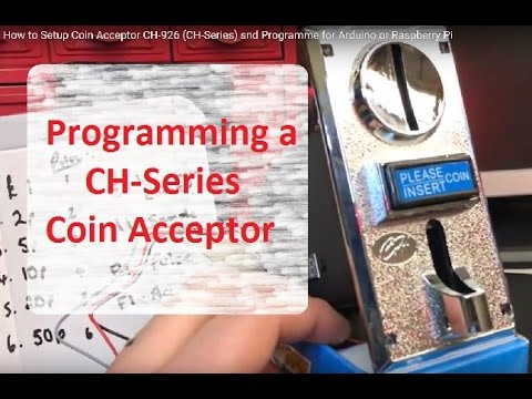 How To Setup Coin Acceptor Ch 926 Ch Series Snd Programme For