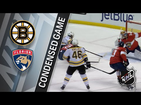 03/15/18 Condensed Game: Bruins @ Panthers