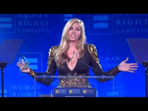 Candis Cayne Receives the HRC Visbility Award