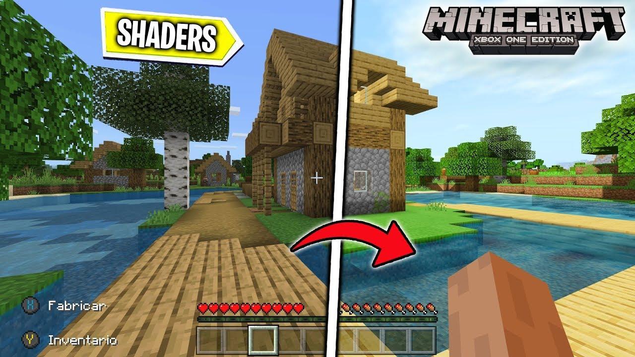 Como Instalar SHADERS Gratis En Minecraft Xbox One/Pocket Edition/W8