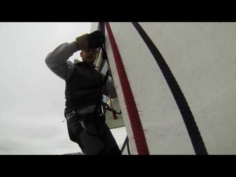 Spinnaker Tower Abseil 2015 YouTube