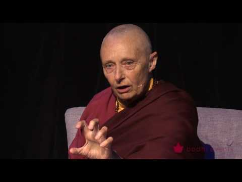 Tenzin Palmo Teaching - Wheel of Life Samsara in the Raw 1 of 12