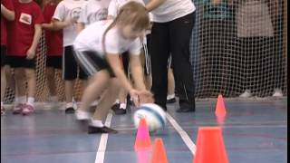 видео Эстафетные командные соревнования «Большие Гонки»