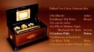 """ペイラード オーケストラボックス """"ディアボロの歌""""他 全8曲 オルゴールの小さな博物館"""