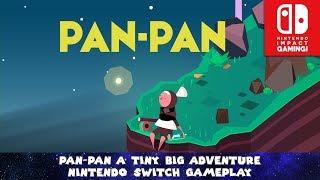PAN-PAN A tiny big adventure - Nintendo Switch Gameplay