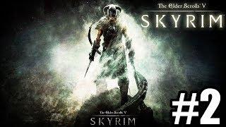 ⚔️ZMIERZAJĄC DO BIAŁEJ GRANI⚔️ - The Elder Scrolls V: Skyrim #2 - Na żywo