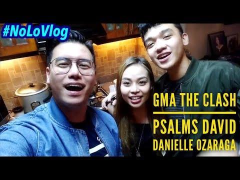 GMA THE CLASH | PSALMS DAVID & DANIELLE OZARAGA (PSALMNIELLE) NAGKATAMPUHAN BA TALAGA?  | NoLo Vlog