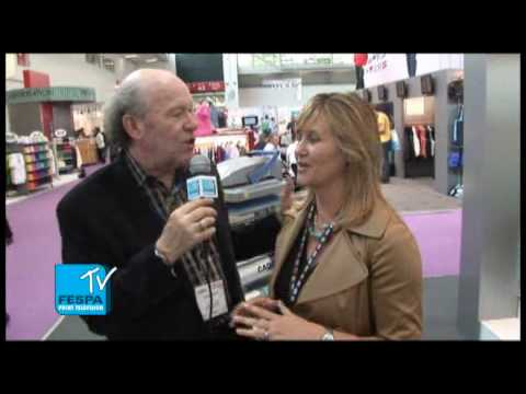 Stahls' International Interview with Scott Fresener at FESPA2010 - FESPA TV