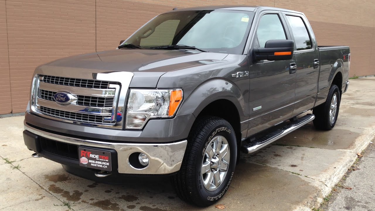 2014 ford f150 xlt xtr 4wd super crew backup camera sensors 3 5l ecoboost tow package youtube