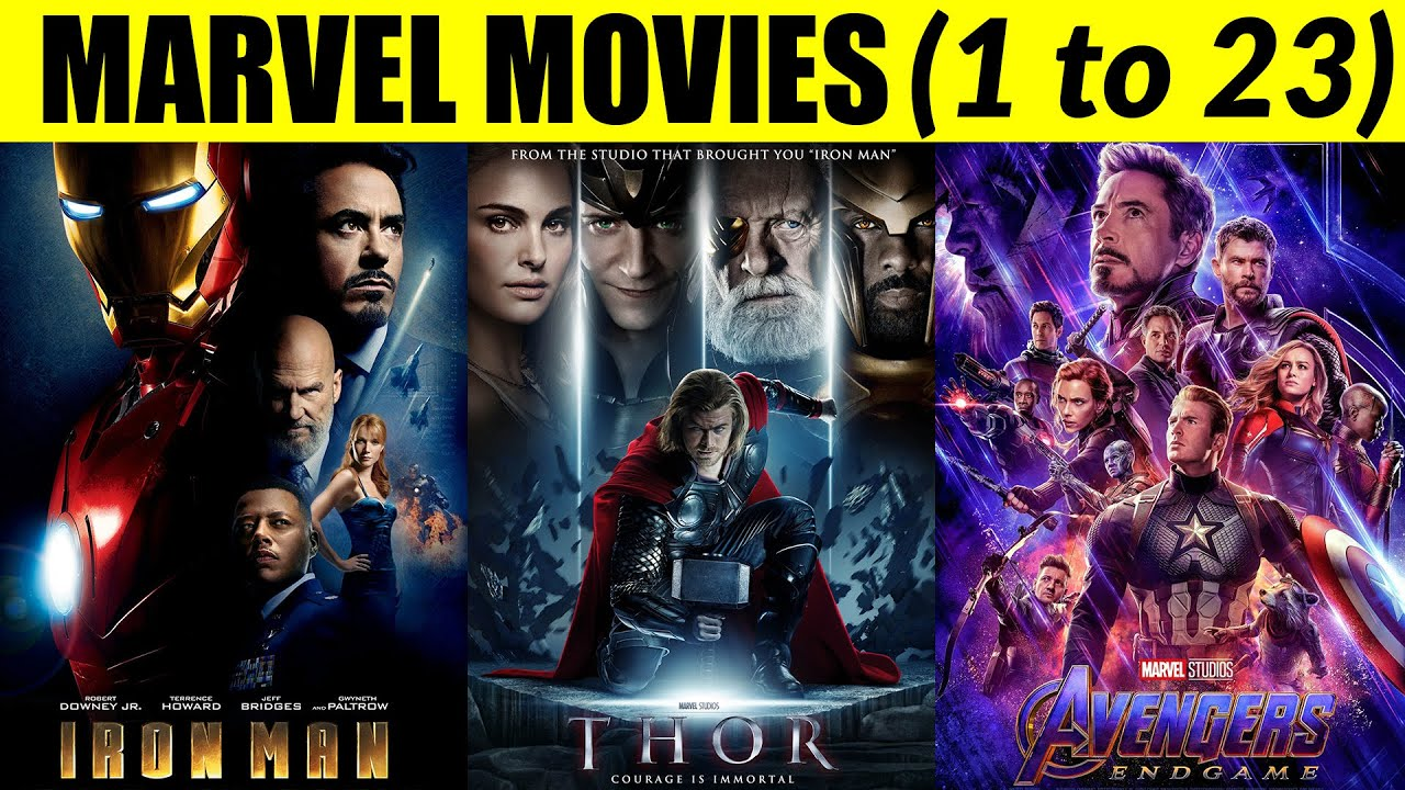 Download How to watch Marvel movies in order of story?