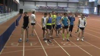 Контрольный бег 3000 м.= 8:56.6 Нововоронеж (5.03.2016)