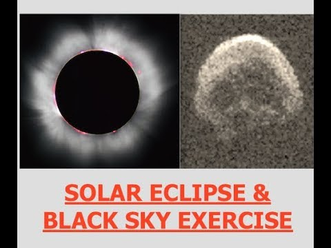 Solar Eclipse,China,India & Korean Peninsula Going Super Nova, Black Sky Exercises & Global Reset
