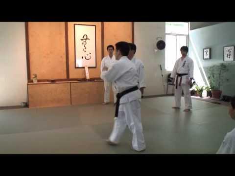 Ushiro Karate USA seminar