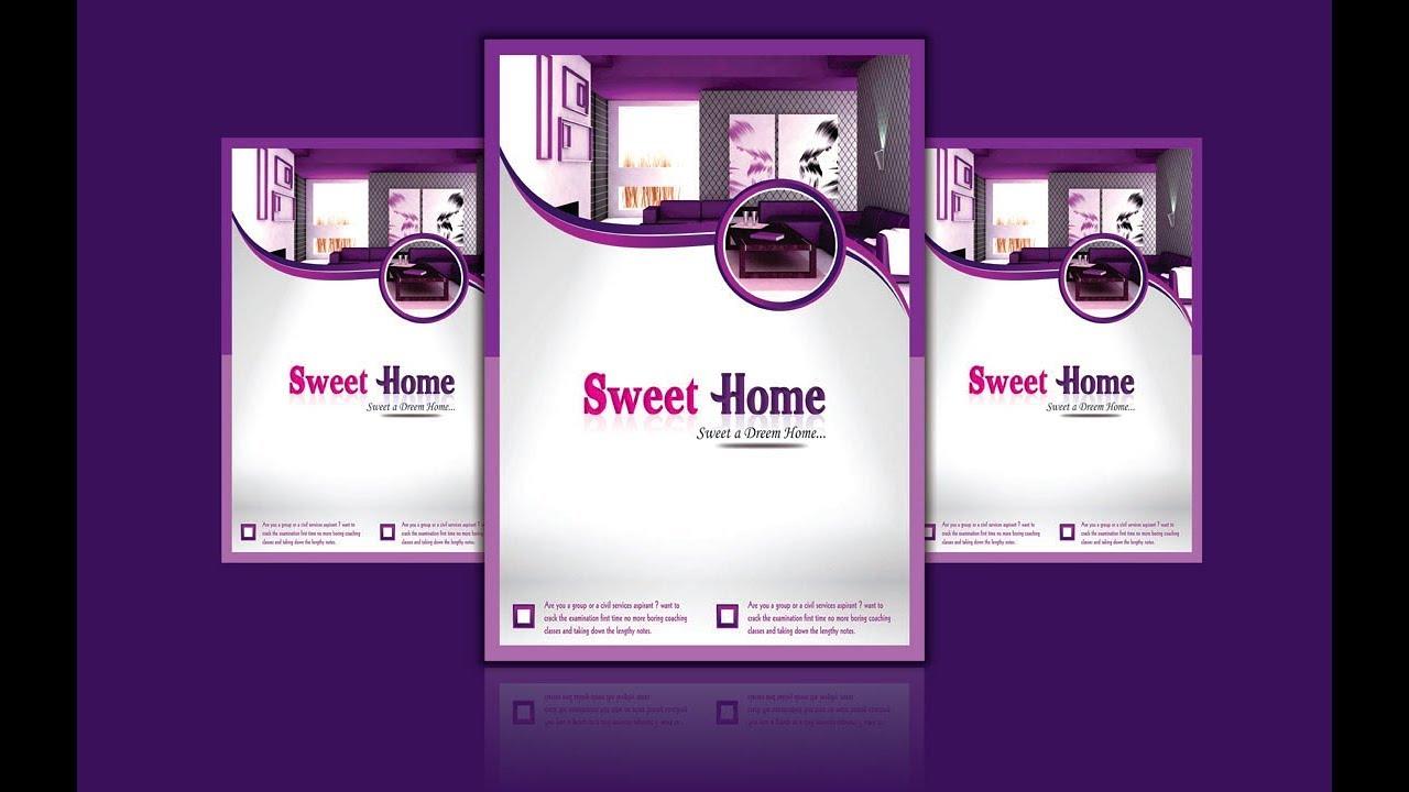 Handbill Design in Coreldraw Tutorial - Home pamphlet flyer design on landscaping flyer, fiesta flyer, web design flyer, architecture flyer, interior design flyer, graphic design flyer, photography flyer, logo design flyer,