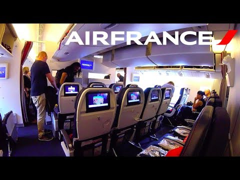 AIR FRANCE BOEING 777-200ER (Economy) | PARIS - VANCOUVER