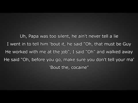 Royce Da 5'9 - Cocaine (Lyrics)