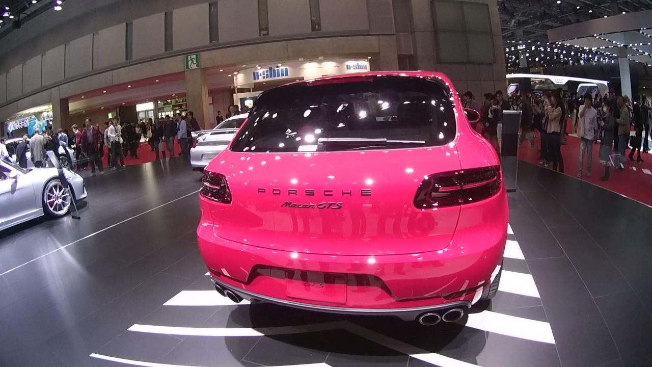 "Porsche Macan Gts >> Porsche Macan GTS ""Shocking Pink"" Tokyo Motorshow2015 - YouTube"